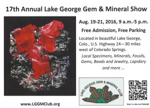 Lake George Gem and Mineral Show