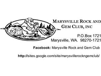 Marysville Rock and Gem Club Show - American Geode