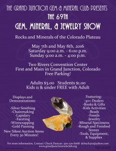 Mother's Day Gem, Mineral and Jewelry Show