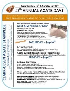 Agate Days