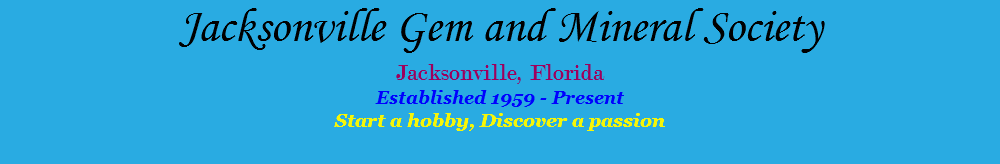 Jacksonville Gem and Mineral Club Jewelry Show