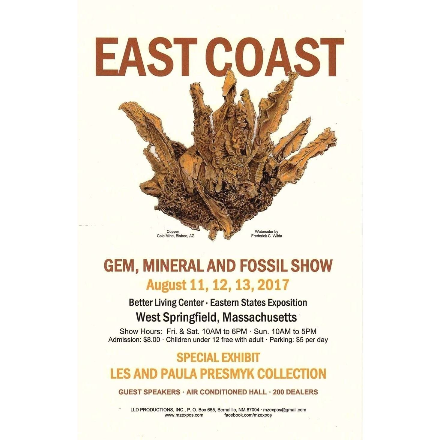 East Coast Gem, Mineral and Fossil Show