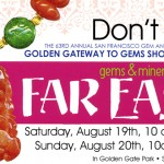 San Francisco Gem and Mineral Show Details