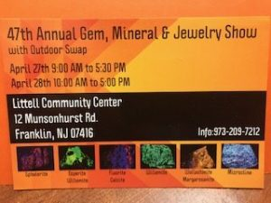 Franklin Mineral Show