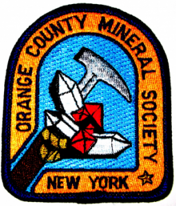 Orange county mineral society logo patch