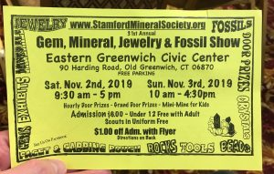 CT Gem and Mineral Shows
