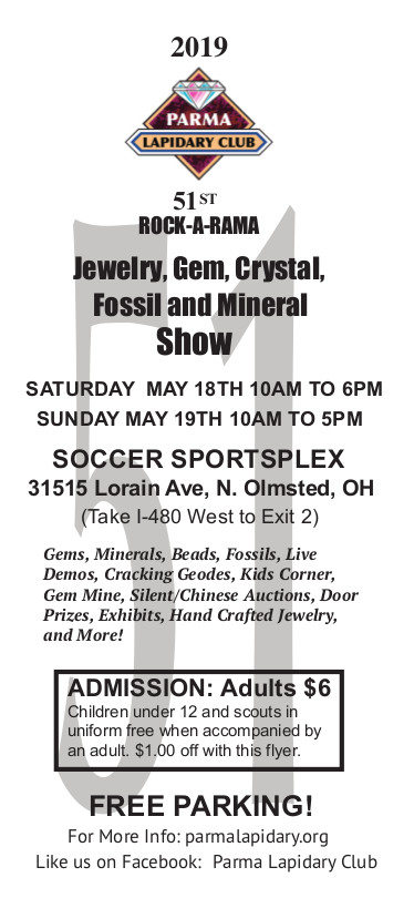 Mineral Show Flyer
